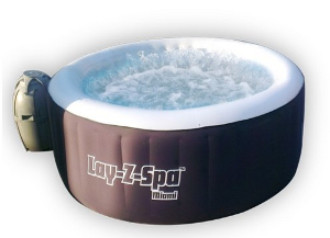 Bestway 54124 Lay-Z-Spa Miami Inflatable Hot Tub
