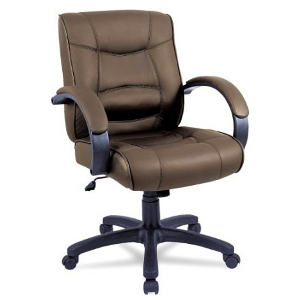 Alera SR42LS50B Strada Series Mid-Back Swivel/Tilt Chair