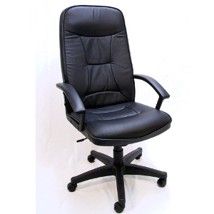Willard Leather Executive Office Chair High Back